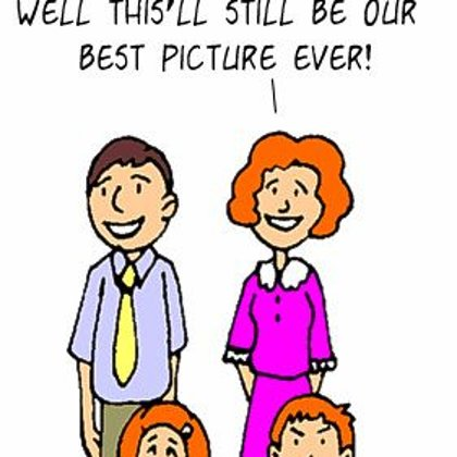 Funny Family Cartoons- The best picutre ever